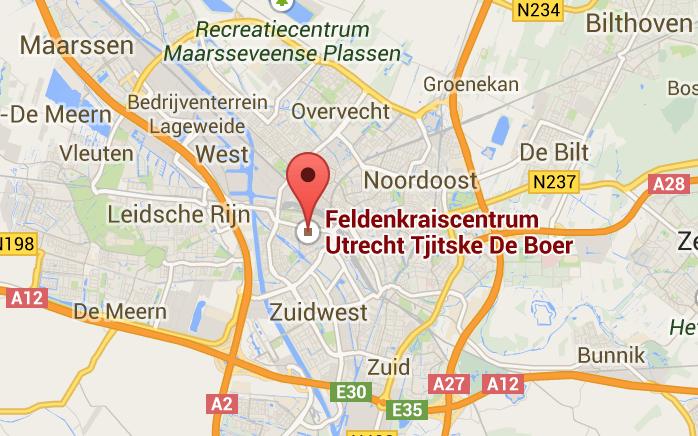 Locatie Feldenkrais centrum Utrecht