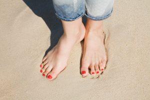 we hebben vaak veel gewoontes in hoe we op onze voeten staan